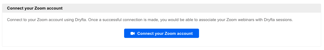 Connect to Zoom